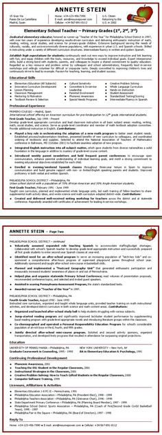 Make your teacher resume stand out among thousands of others w - school teacher resume sample