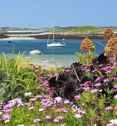 Beautiful Isles Of Scilly, England