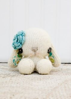 crochet bunnies are such cuteness