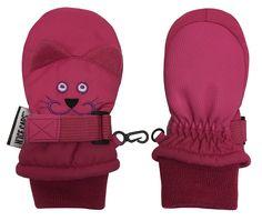 NIce Caps Little Kids Cute Fleece Animal Face Thinsulate Waterproof Winter Mittens