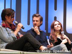 karen gillan and arthur darvill | Matt Smith, Arthur Darvill and Karen Gillan. | Flickr - Photo Sharing!