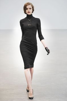 Goth by day. Might get away with this for the office - L`Wren Scott