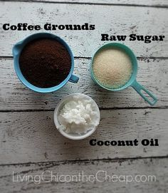 I have been obsessed with Homemade Body Scrub recipes lately. I decided to whip up a Coffee Sugar scrub recipe of my own this morning. It is so easy and Diy Body Scrub, Diy Scrub, Diy Coffee Face Scrub, Diy Exfoliating Face Scrub, Coffee Cellulite Scrub, Best Body Scrub, Beauty Care, Diy Beauty, Sugar Scrub Recipe