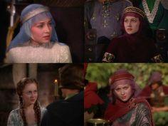 4 pics collage - Adventures of Robin Hood (1938)