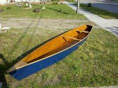 Build your own canoe with just 2 sheets of plywood.  Yes, please! Canoes, Boat Design, Surfboard, Boat Plans, Fries, Southern, Pictures, Twitter, Blue