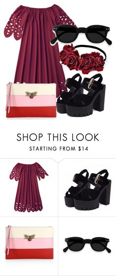 """""""Untitled #18"""" by iulianaenache526 on Polyvore featuring Gucci"""