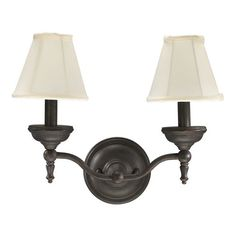 Quorum Ashton 2 Light Wall Sconce