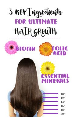 Grow long, beautiful healthy hair.
