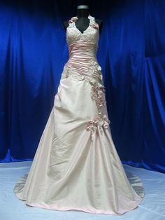 Wedding Dress Fantasy - Pink Wedding Dress - Available in Every Color 35, $739.00 (http://www.weddingdressfantasy.com/pink-wedding-dress-available-in-every-color-35/)