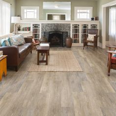 LifeProof Multi-Width x 47.6 in. Radiant Oak Luxury Vinyl Plank Flooring (19.53 sq. ft. / case)-I127918L - The Home Depot