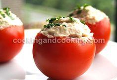 Stuffed Tomatoes with Tuna Salad