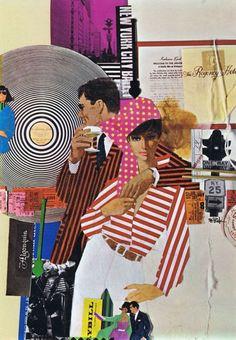 Fashion Illustration Love this one - so graphic Illustrator Bob Peak Collage Art, Collages, Bob Peak, Pop Art, West Side Story, Robert Mcginnis, Retro Art, Art Design, Cover Design
