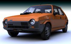 C4d Fiat Ritmo - 3D Model