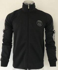 e62fbad7637d 2017 Cheap Jacket PSG Replica Grey Uniform 2017 Cheap Jacket PSG Replica  Grey Uniform