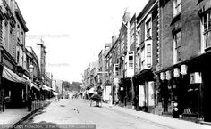 Glastonbury, High Street 1896, from Francis Frith