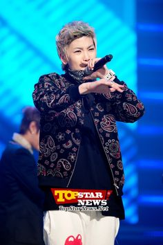 B.A.P's Zelo, 'the hiphop baby,' MBC MUSIC Show Champion Live Scene [KPOP]