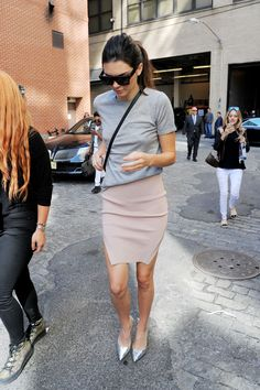 September 16, 2015 - Outside Spring Studios in... Kendall Nicole Jenner Fashion Style