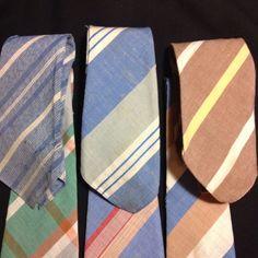 Vintage Lot Mens Neckties All Palm Beach by Beau Brummell   eBay