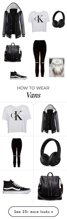 """""""Untitled #20"""" by myamarie8 on Polyvore featuring Vans, New Look and Beats by Dr. Dre"""