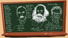 """Spirende opgør med ensidig økonomisk undervisning: """"Økonomistuderende lærer ifølge kritikere ikke om centrale teoretikere, der kan bidrage til en forklaring på finanskrisen. Tænkere som Keynes, Marx og Minsky er derfor på vej tilbage på en række britiske universiteter. Men i Danmark er der ikke brug for at ændre på økonomiundervisningen, siger institutleder"""", 27. november 2013"""