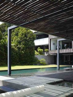arquitectura  moderna e impactante en una casa