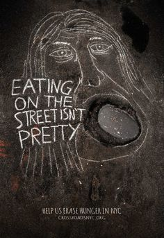 In NYC, Clever Street-Drawn Portraits Highlight The Plight Of The Homeless - DesignTAXI.com