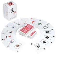 Chinese Traditional Mahjong Playing Kards - 144 Card Set (bestseller)