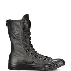 I believe that scientists have the capacity to come up with sturdy, equally resistant, non animal materials to make cool shoes with. :(  I don't want to only be able to choose from leather or leather.