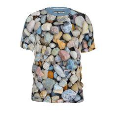 #rockaway  by #frankiet #tshirt #alloverprint #rocks #stones #pebbles #citrusreport #@The Citrus Report