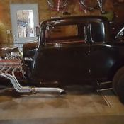 1932 Plymouth 3 window coupe with 392 Chrysler Hemi engine