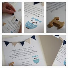 Christening Invitations  BABY / DIY /   www.clareira.se/blog