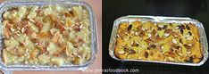 Eggless bread pudding recipe - How to make custard bread pudding without eggs Eggless Bread Pudding Recipe, Custard Bread Pudding, Easy Pudding Recipes, Custard Sauce, Eggless Recipes, Easy Cheesecake Recipes, Cooking Recipes, Indian Snacks For Kids, How To Make Custard