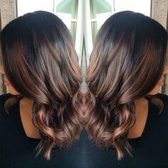 Rose gold balayage #hairbysharmichele