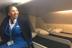 De hemmelige rommene du ikke visste var p? flyet Her er de hemmelige soverommene p? flyet