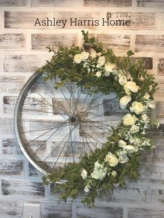 Our TOP 3 FAVORITE DIYS ever!!! A bicycle wreath has stolen the show.