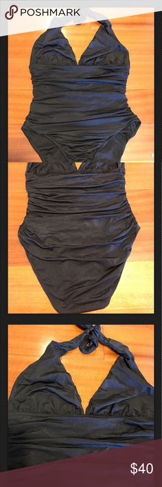 Karla Colletto Women's Swim Suit Bathing Suit 12 Karla Colletto Women's Swim Suit Bathing Suit Size 12 Black karla colletto Swim One Pieces