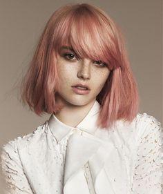Angelo Seminara Medium Blonde Hairstyles