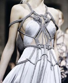 — Detail at Yiqing Yin Spring 2016 Haute Couture.