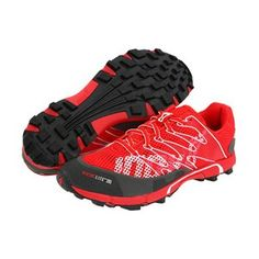Inov-8 Roclite 285 Red / Slate - A lightweight and versatile trail shoe designed for maximum performance in both races and training. The reinforced toe box protects the foot and shoe upper from any unexpected terrain.