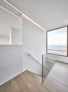 De Panne is a minimal space located in Belgium, designed by minus.