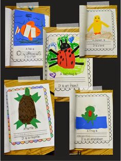 Kids have fun learning and creating a book about Oviparous animals!