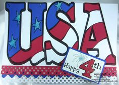 """Card by Tammy's Spot, using """"Proud"""" digi stamp by Diana Garrison"""