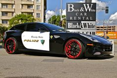 Exotic And Muscle Cars: Ferrari FF , Beverly Hills Police Car