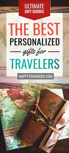The BEST list of personalized gifts for travellers. Includes options for all budgets - the perfect gift ideas for travelers. #travel #giftguide #christmas #shopping
