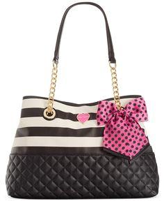 Betsey Johnson Macy's Exclusive Medium Shopper - Handbags & Accessories - Macy's