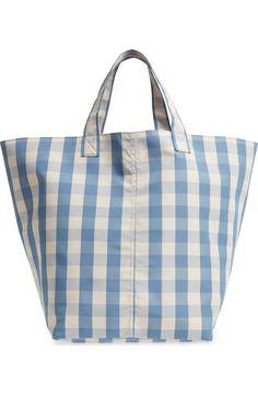 Burberry Women's Small Signature Grain Tote Black My Bags, Purses And Bags, Nylon Tote Bags, Linen Bag, Fabric Bags, Market Bag, Handmade Bags, Canvas Tote Bags, Bag Making