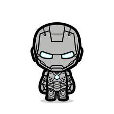 Icing problem?  #teamironman #ironman #tonystark #civilwar #captainamerica #classic #comics #vector #chibi #cute #illustrator #sticker