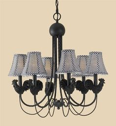 remarkable kitchen country chandelier | chicken chandelier | 3118OMC Olde Mill Copper Domaine ...
