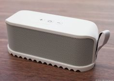 For $199, the Jabra Solemate Bluetooth wireless speaker offers a wild design and lots of portable sound. Read CNET's review here: http://cnet.co/N0lpor