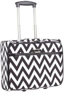 646d5f1583c Ever Moda Black Chevron Rolling Wheeled Laptop Case     This absolutely  fabulous wheeled laptop